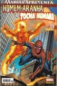 Marvel Apresenta Nº 21 Homem-Aranha E Tocha Humana