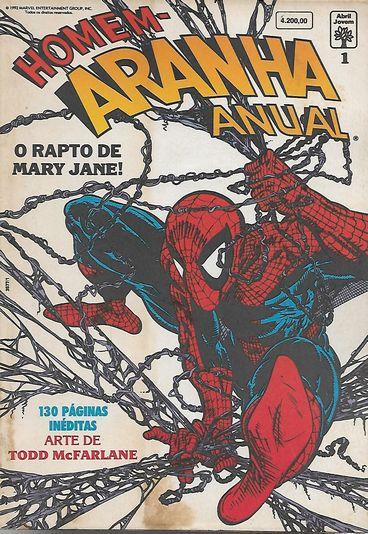 Homem-aranha Anual Nº 1