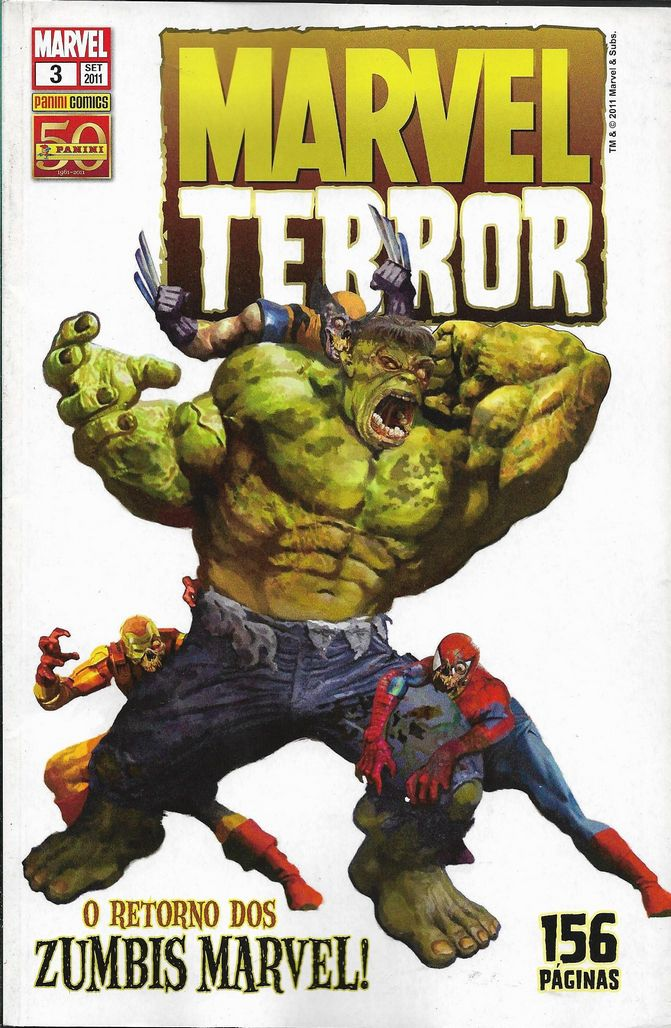 Marvel Terror Nº 3