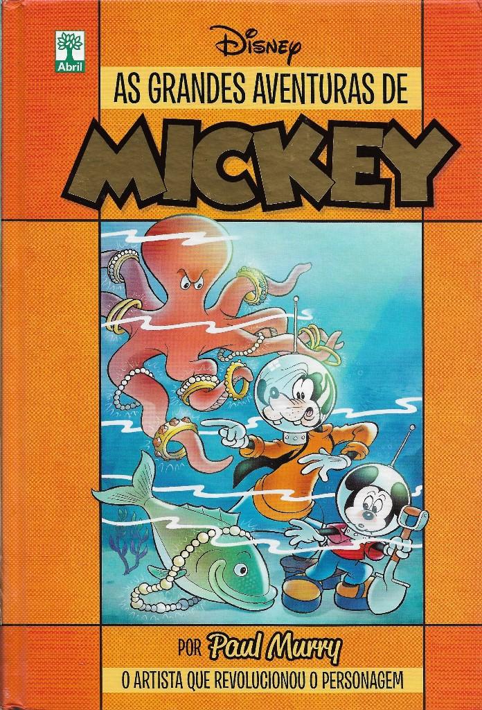 As Grandes Aventuras De Mickey Por Paul Murry