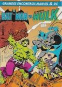 Grandes Encontros Marvel E Dc Nº 3 - Batman Vs. O Incrível Hulk